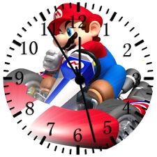 Super Mario Frameless Borderless Wall Clock Nice For Gifts or Decor Z52