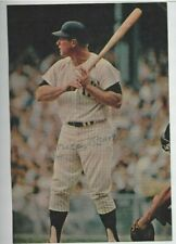 Mickey Mantle Autographed Baseball 8x10 Magazine Picture NY Yankees PSA Vintage