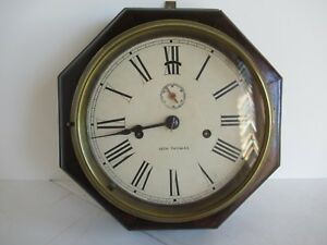 "Seth Thomas 8-day ""Lever"" wall clock"