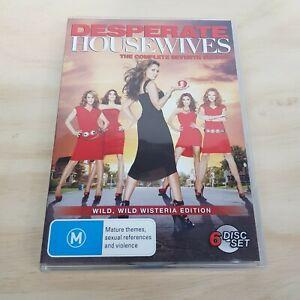 DESPERATE HOUSEWIVES Season 7 (2010) DVD Inc Bonus Features (Tracked Post)