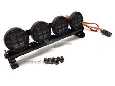 BARRA LUMINOSA 4 LED LUCE BIANCA IN METALLO + GRIGLIE VRX T985W X 1-8 1-10 1-16