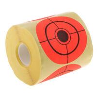 """250pcs 3 """"cible autocollant rouleau de tir auto-adhésif cible papier"""