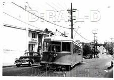 9A311 NEG/RP 1948 KEY SYSTEM RAILWAY CAR #970 PIEDMONT & LINDA