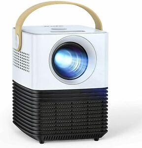 APEMAN LC450 DIGITAL LCD PROJECTOR MINI PORTABLE HD 1080P HOME THEATRE NEW