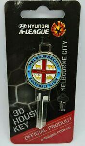 Melbourne City FC - Soccer A League - 3D House Key Blank - LW4  - Football