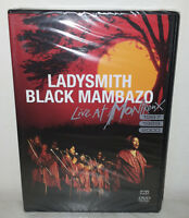 DVD LADYSMITH BLACK MAMBAZO - LIVE IN MONTREUX - NUOVO NEW