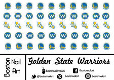 NBA - Golden State Warriors Waterslide Nail Decal - 50 PC