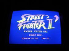 Capcom Street Fighter II Hyper Fighting Dash Jamma game board arcade  CPS 1