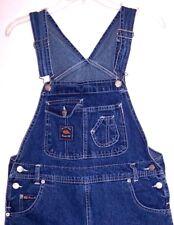 Route 66 Bib Overalls L Vintage 90's Shortalls Bibs Jeans Grunge Romper Playsuit