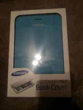 Official Genuine Samsung Galaxy Tab 2 7.0 Book Cover Case Light Blue New in Box