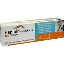 HEPARIN RATIOPHARM 180.000 I.E.Gel 100g PZN 3892335