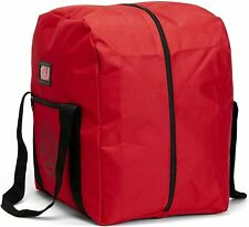 LINE2design Firefighter Rescue Step-In Turnout Fire Gear Bag Dry Fabric - Red