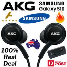 SAMSUNG AKG Earphones S10 S10+ Galaxy Mic HEADSET Headphones BLACK Earbuds NEW