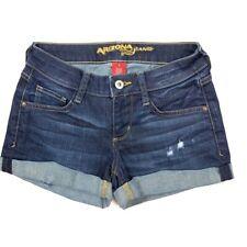 Arizona Cuffed Distressed Jean Shorts Size 0 (26W)