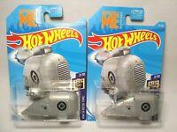 BNIB Lot of 2 Hot Wheels Grumobile Free Shipping!