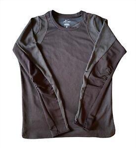 Nike Undercover Lab Gyakusou Mens Large Running Long Sleeve Brown Shirt Top