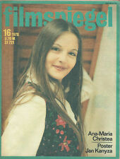 filmspiegel 16/1978 Ana-Maria christea JANE BIRKIN (fs59)