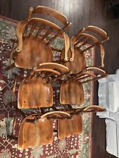 Cushman Colonial Creations Set of 6 dining Chairs, solid, style 7031 Vermont.