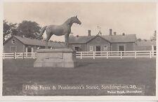 SANDRINGHAM ( Norfolk) :  Home Farm & Persimmon's Statue RP-RALPH