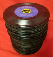 Lot of 100 CLASSIC COUNTRY BLUEGRASS HONKY TONK 45 rpm Vinyl RECORDS Jukebox