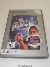 Smack Down Just Bring It PS2 (Platinum) PAL *Complete*