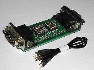 SUB D Mess und Prüf Adapter 9 polig clever testen, messen, anpassen  230440-IC