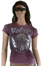Amplified VOTAN STRASS Let's Rock Skull Star ViP Vintage WoW T-Shirt g.L/XL 42