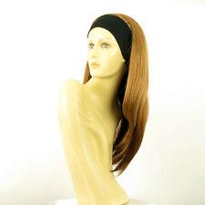 Perruque avec bandeau blond foncé cuivré ref NIKITA en G27