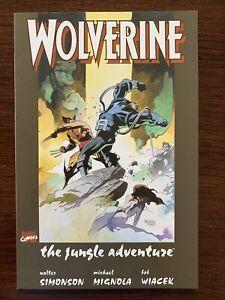 Wolverine - The Jungle Adventure (Marvel 1990) NM Key!!