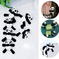 Soft Plush Cute Panda Fridge Magnet Refrigerator Sticker Magnetic Decor