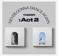 TAEMIN-SHINee VOL.3 [Never Gonna Dance Again:Act 2] Album Select Ver+Poster Kpop