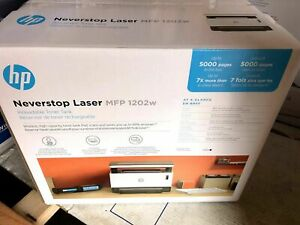 HP  Neverstop MFP 1202w Wireless Black-And-White All-In-One