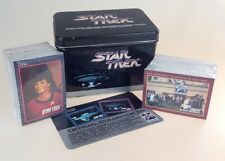 Scarce Star Trek Collectors Tin And Cards 25th Anniversary 1991