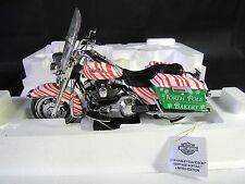 RARE FRANKLIN MINT Harley softail 2006 Christmas motorcycle 1:10 Prototype!