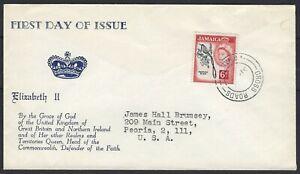 JAMAICA FDC 1962: DOCTOR BIRD