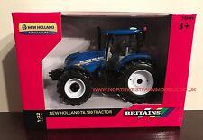 43147A1 Britains granja New Holland T6.180 Tractor de modelo de escala 1/32 ** NUEVO ** (MIB)