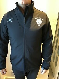 Barbarians Rugby team-issue soft shell jacket, new with tags, size large