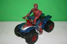 Marvel Spider-Man Quad Bicicleta Buggy Con Figura De Acción 2002 The Movie