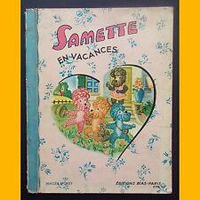 SAMETTE EN VACANCES images d'Okey Editions Bias 1950