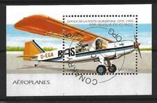 Avions Guinée (18) bloc oblitéré