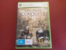 THE LORD OF THE RINGS CONQUEST- Xbox 360 Game Complete - FREE POSTAGE
