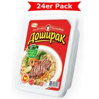 Doschirak instant Nudeln mit Rindfleisch Geschmack 24er Pack (24 x 90g)
