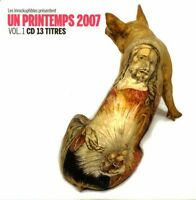 Compilation CD Les Inrockuptibles - Un Printemps 2007 - Vol. 1 - France (VG+/VG+