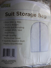2 x Suit Storage Bags // Size of each: 24in x 36in (61cm x 91.5cm)