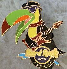 Hard Rock Hotel PANAMA 2012 Rockin Toucan Playing Gibson Guitar PIN - HRC #66745