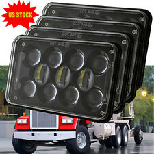 "4x6"" 4D CREE LED Headlights for Kenworth Ford Probe Chevrolet Oldsmobile Cutlass"