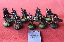 Games Workshop Warhammer 40k Kasrkin Stormtroopers x10 Melta Painted Metal Army