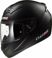 LS2 Helmets - FF352 Solid Matt Black - Full Face Imported Motorcycle Helmet