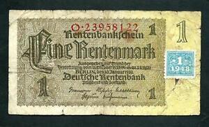 East German (P1) 1 Deutsche Mark 1948