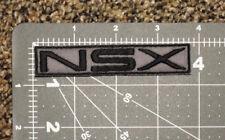 ACURA NSX LOGO GRAY CAR BIKER FORMULA RACING MECHANIC PATCH - MADE IN USA